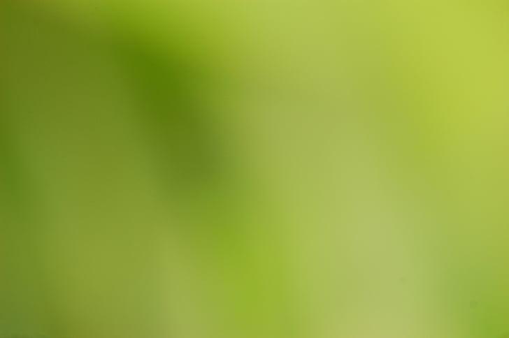 vihreä, Blur, tausta, näön, väri, väri, Luonto