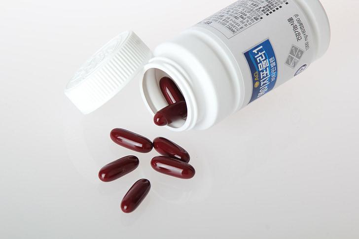 o, tablete, medicinske, zdravje, vitamina