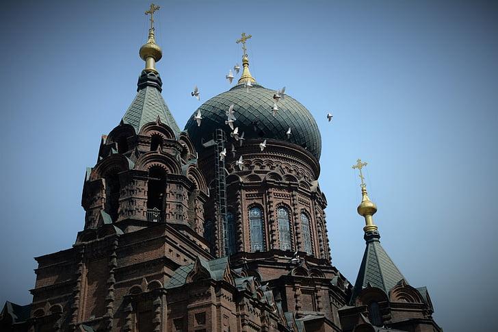 harbin, sofia church, building