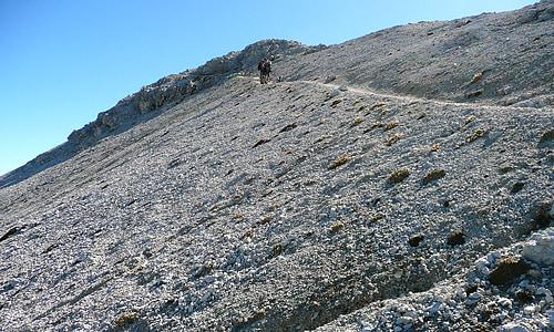 mountain, dolomites, sass onger, mountains, hiking, trekking