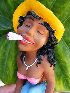 marihuana, lutke, smiješno, doping, đanker, korov, dim