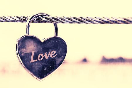 cor, l'amor, relació, símbol, sentiments, sensació, tanca de seguretat