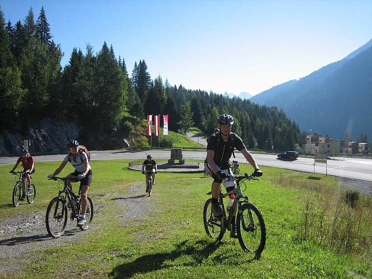 Chạy xe đạp, xe đạp, transalp, thể thao, xe đạp, hoạt động ngoài trời, núi