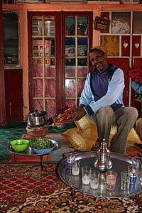 marrakesh, man, culture, travel, male, morocco, tea