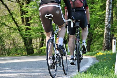 velosipēdu braukt, velosipēds, velosipēdisti, Riteņbraukšana, cikls, vairāk, tūre