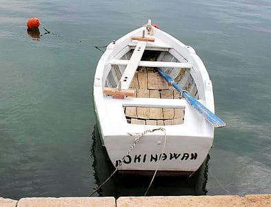 Маленька човен, Хорватія, білий, води, море, Річка, Старий