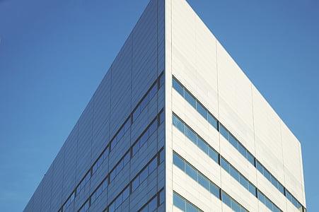 Architektur, Gebäude, Ecke, moderne, Urban, Bau, Geschäft