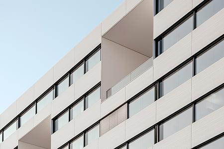 arquitectura, edifici, infraestructura, establiment, corporativa, Oficina, blau