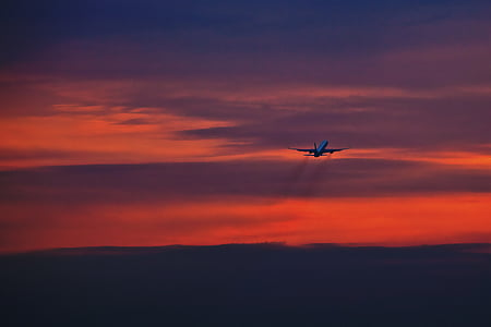 passió pels viatges, aeronaus, cel, volar, viatges de vacances, volar, vol