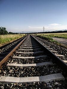 train, track, pebble, railway traffic, railroad track, rail traffic, traffic