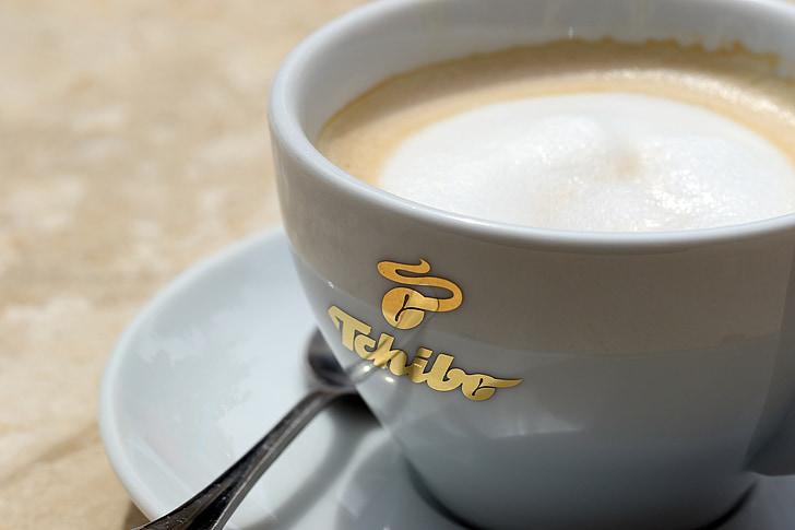koffie, theekopje, een kopje koffie, pocelana, kopje koffie, cafeïne, Koffie-/ theevoorzieningen