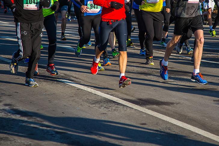 darbojas, Sports, atbilst, fitnesa, Fun run, sportisks, skrējiens