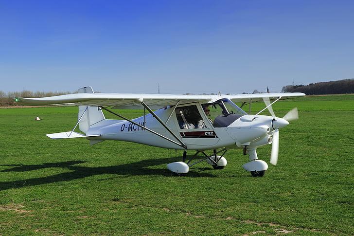 aeronaus, Ultra-lleugera, l'aeroport, ultralleugers com, Inici, posició inicial