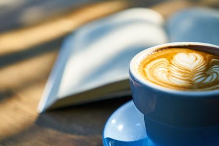 cafè, llibre, cafeïna, Llibreta, curs, Copa, cafè exprés