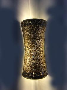 LED lys fixture, lett innslag, LED belysning, lys, lampe, huset, innredning