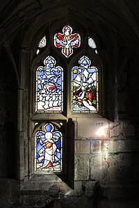 finestra, vetro macchiato, macchiato, vetro, Cattedrale, Chiesa, colorato