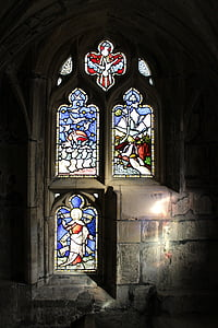 fereastra, vitralii, vitralii, sticlă, Catedrala, Biserica, colorat