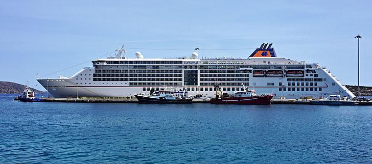 kryssning, fartyg, lyx, Europa, Medelhavet, kryssningsfartyg, vatten