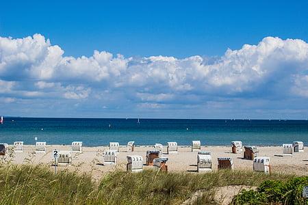 plajă, Marea Baltică, natura, plaja cu nisip, vacanta, coasta, Mecklenburg