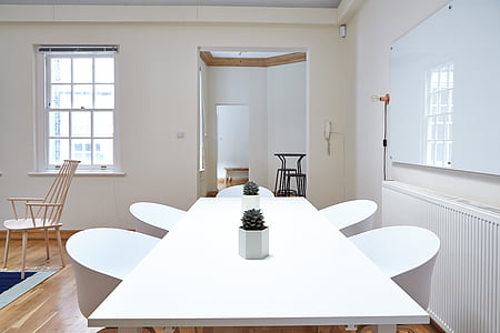 chairs, furniture, indoors, room, table, window, home interior