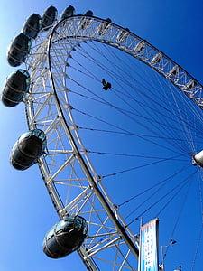Vaatamisväärsused, vaateratas, Landmark, Suurbritannia, Ühendkuningriik, London, huvipakkuvad