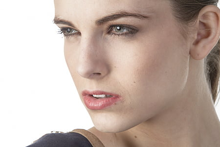 naiste, Kaunis, stuudio, kaunid kunstid, noor naine, Mudel, kokkupuute