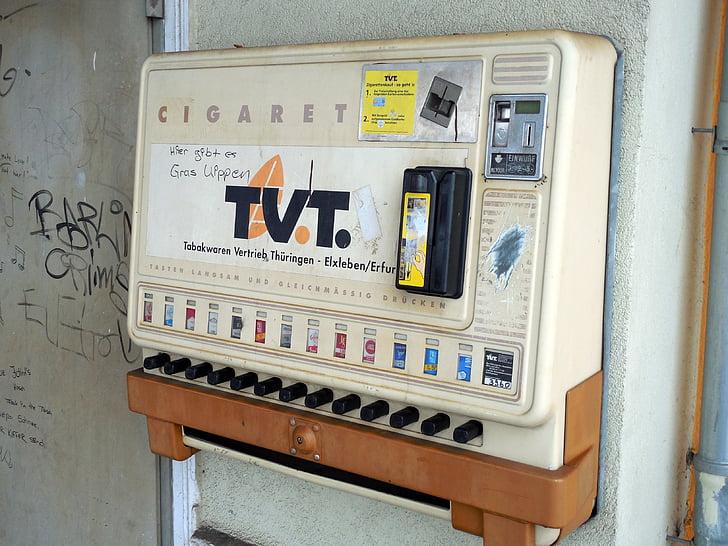 automàtica, cigarrets, màquina de cigarreta, alemany, Alemanya, fumar, urbà