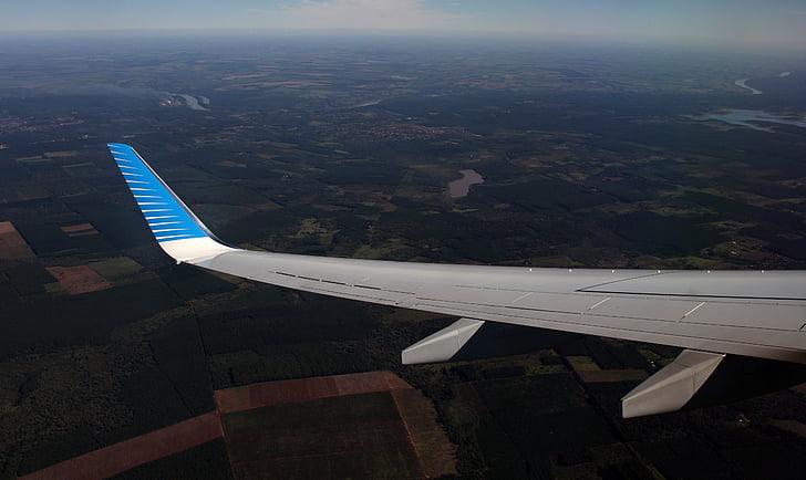 крила літака, політ, літак, крило, літак, літак, перевезення