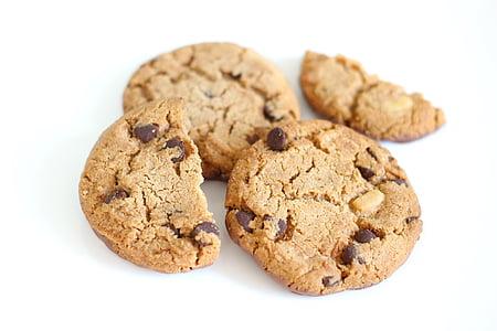 Бісквіт, печиво, шоколад, смачні, клювання, продукти харчування, Солодкий