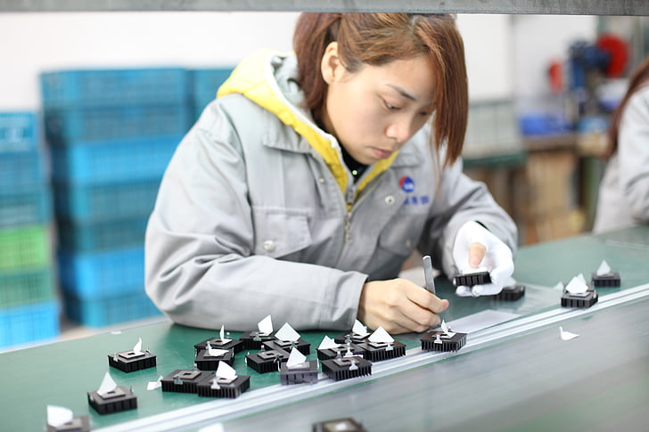Free photo: workshop, operator, the assembly line - Hippopx
