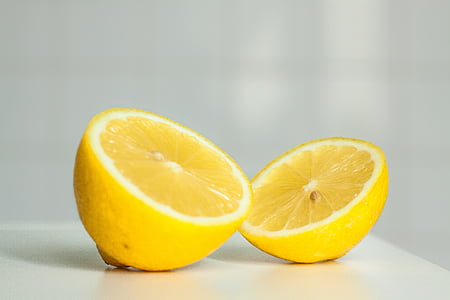 柠檬, 黄色, 柑橘, 水果, 有机, 多汁, 成熟