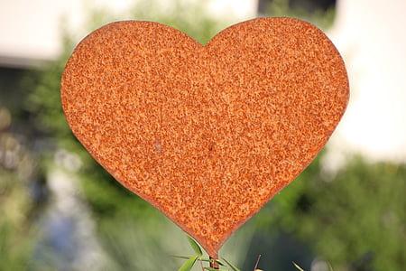 heart, stainless, metal, love, symbol, love symbol, heart Shape