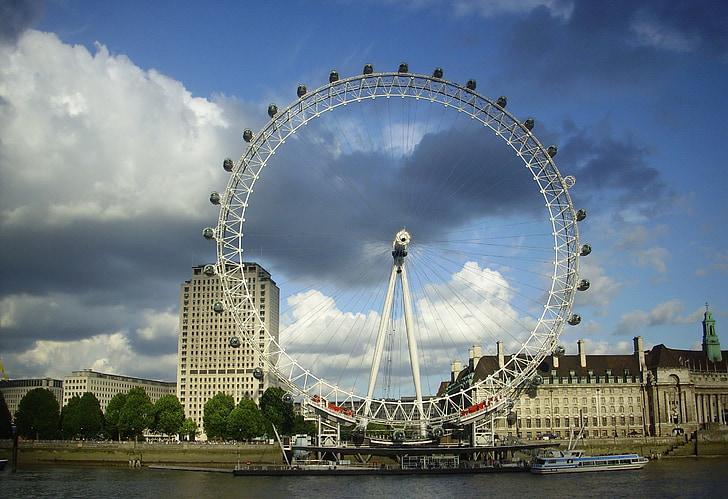 london, london eye, landmark