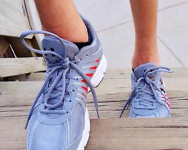 executar, corrent, esport, gimnàs, Sa, estil de vida, Atletisme