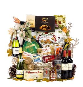 christmas hamper, box of christmas, lot of christmas, lot christmas, christmas gift, basket original, baskets and lots