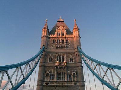 London, Tower bridge, Inglismaa, vajutage, huvipakkuvad