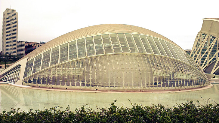 city of arts and sciences, valencia, modern, architecture, buildings, famous Place, urban Scene