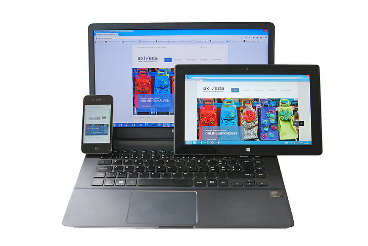notebook, tablet, smartphone, responsive, computer, touch screen, ipad