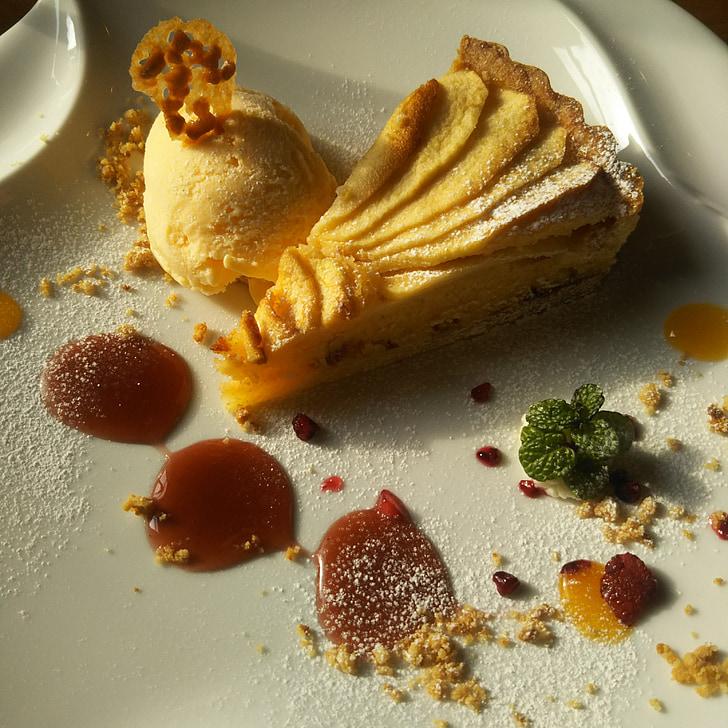 tart, suites, dessert