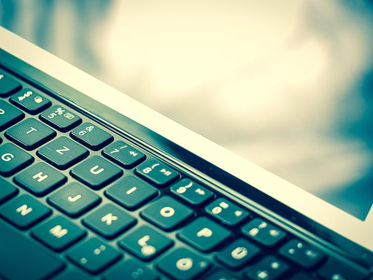 klávesnica, iPad, notebook, Tablet, počítač, Monitor, dotykový displej