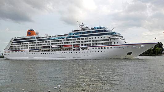 cruiseskip, skipet, Cruise, port