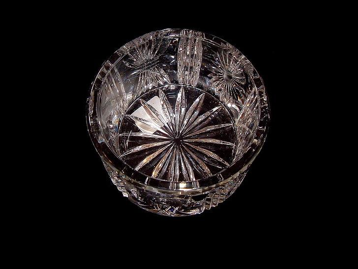 bol de vidre, vidre, vidre, Cristall, closca, contenidor, espurna