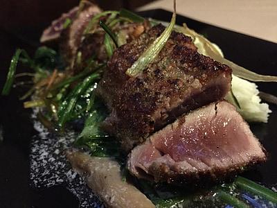 tonyina, Daurada, peix, aliments, gurmet, placa, marisc