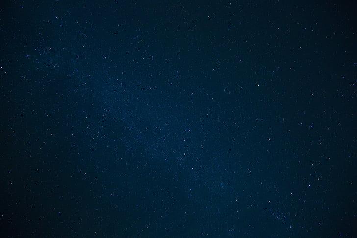 сузір'я, небо, ніч, Темний, зірочок, Галактика, фони