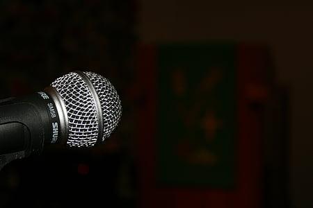 technology, microphone, micro