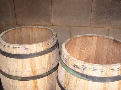barriques, vin, Winery, Cave, bois, en bois, tonneau