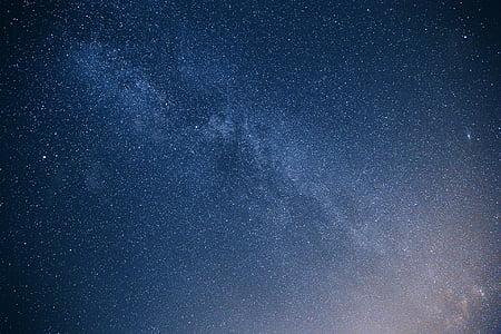 galaktika, zvaigznes, zinātne, telpa, debesis, Galaxy, naktī