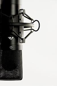 Stúdió, mikrofon, ének mikrofon, Audio, felvétel, Hangstúdió, audió eszközök