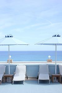 Liege, Yunanistan, Havuzu, güneşlenme, gevşeme, lüks otel, Resort