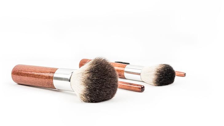 brotxa de maquillatge, cosmètica, maquillatge, raspall, conformen, Rouge, bellesa